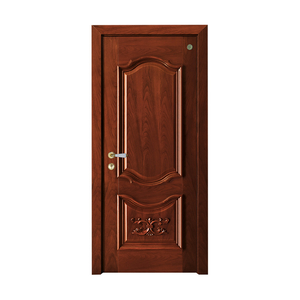 Carved wooden door series