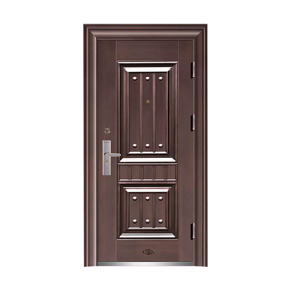 Boutique anti-theft security door HT-X-10 Simulated copper