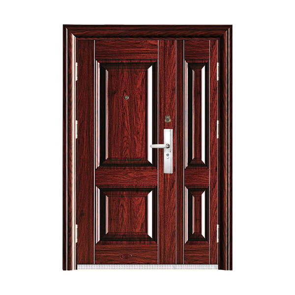 Boutique anti-theft security door HT-X-07 HongTai son-mother