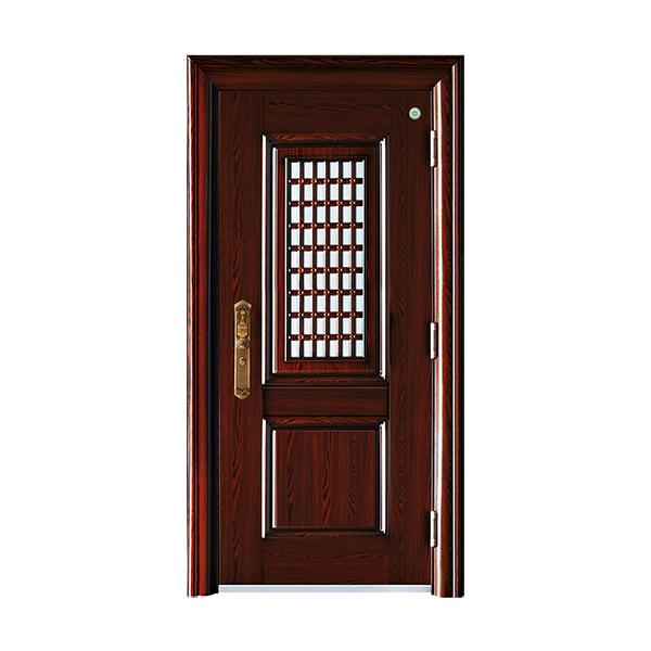 防盗安全门 GLL-105鸿阳门中门9cm
