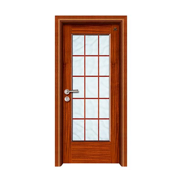 实木油漆套装门 HT-SB-23沙比利本色