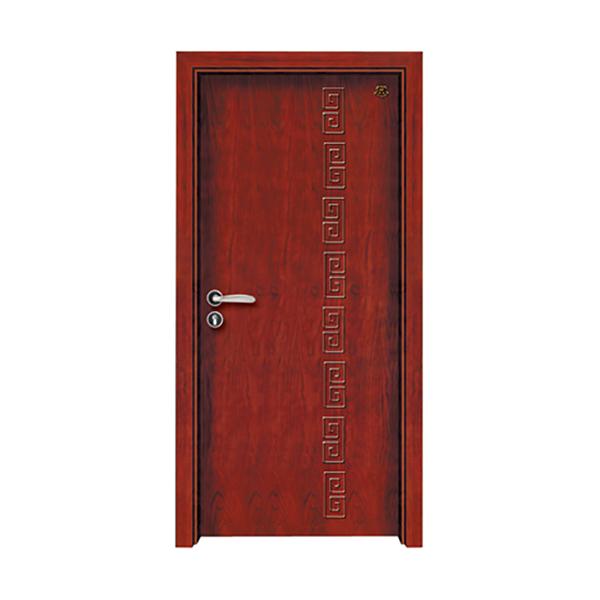 实木油漆套装门 HT-SB-17楸木