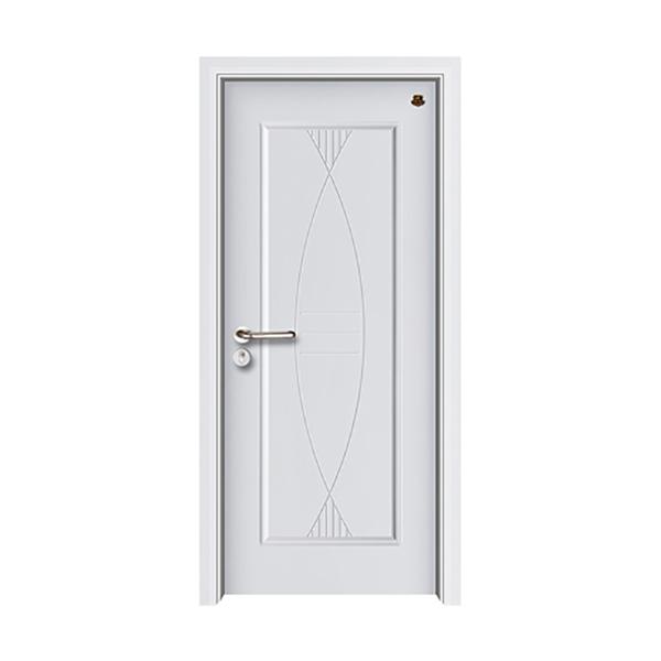 实木油漆套装门 HT-SB-10纯白