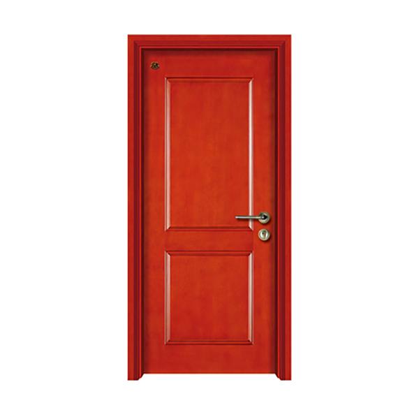 实木油漆套装门 HT-SA-809红樱桃