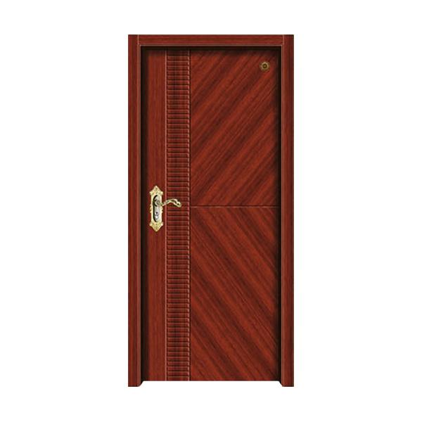 实木油漆套装门 GLL-S-1632BA沙比利