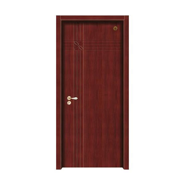 实木油漆套装门 GLL-S-1636B沙比利