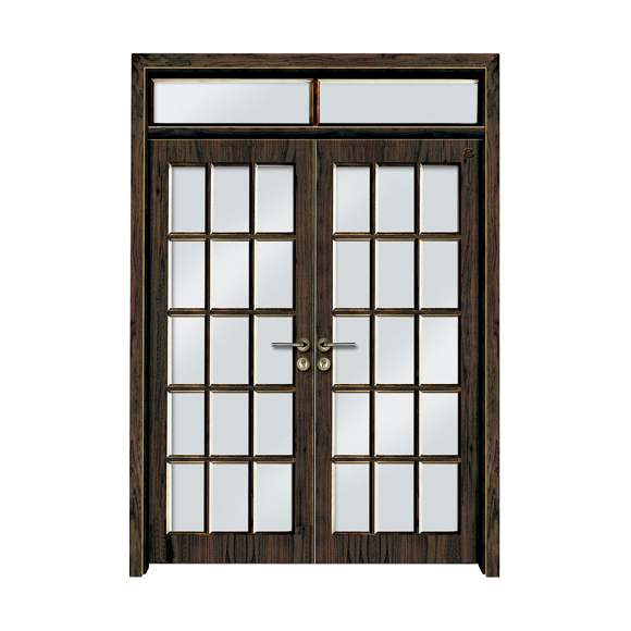 实木油漆套装门 HT-SD-116水曲柳本色