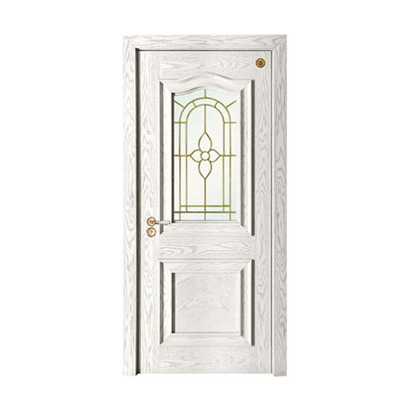 实木油漆套装门 GLL-S-1628A玻璃