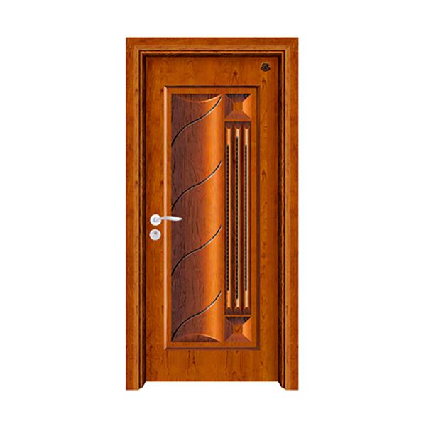 实木油漆套装门 HT-SA-7黄花梨