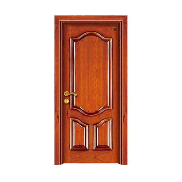 实木油漆套装门 HT-SA-1红樱桃本色