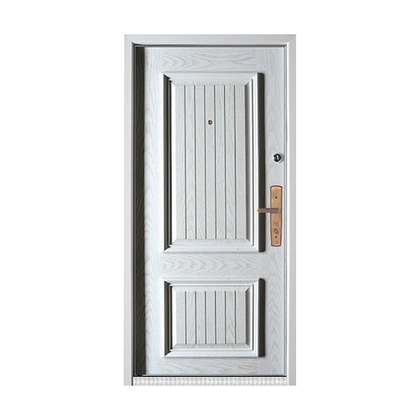 实木油漆套装门 GLL-S-1627纯白