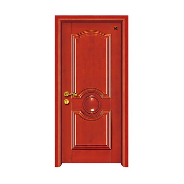 实木油漆套装门 HT-SC-17红樱桃