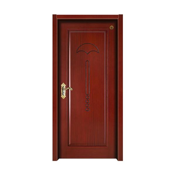 实木油漆套装门 GLL-S-1635B楸木