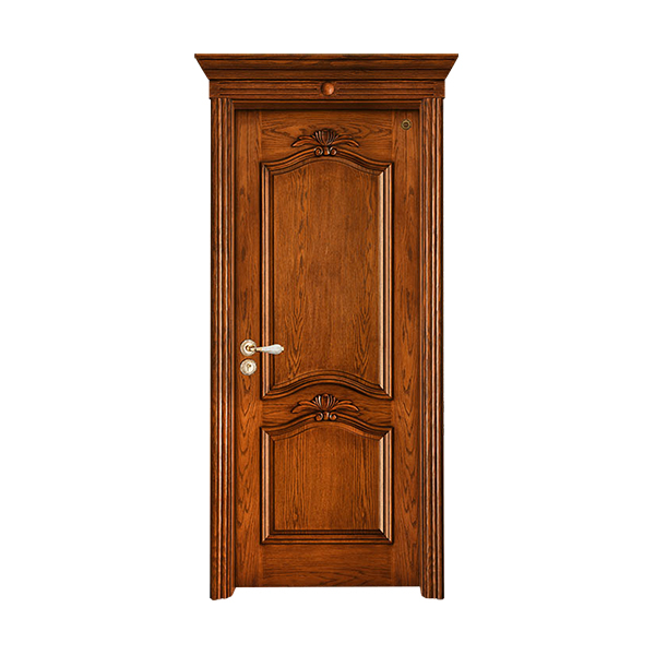 实木油漆套装门 GLL-S-1610AH橡木仿古