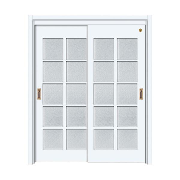 实木油漆套装门 GLL-S-1652B纯白