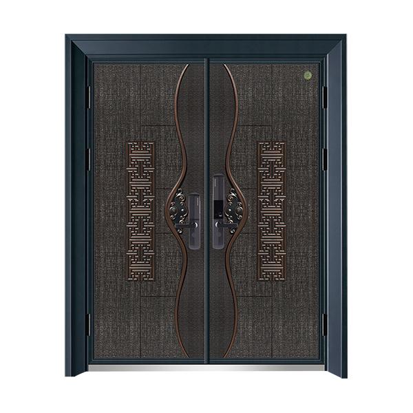 German-made cast aluminum door card series GLL-ZL-1901