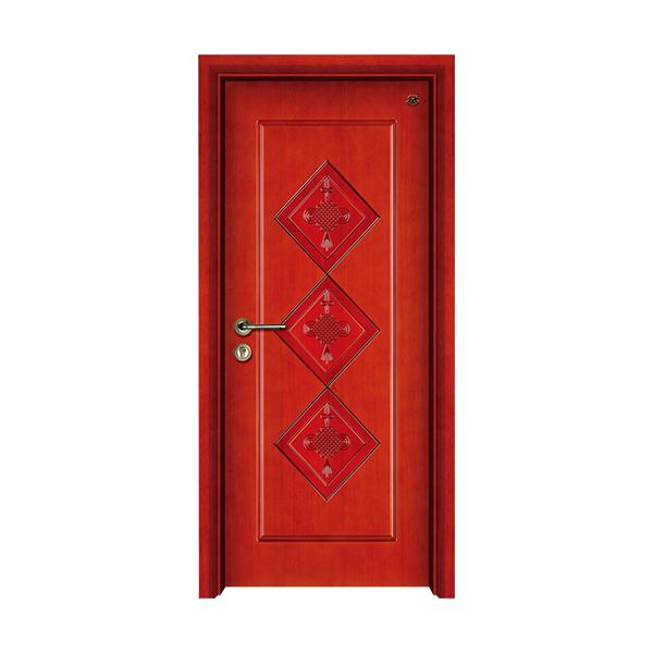 实木油漆套装门 HT-SB-11红樱桃
