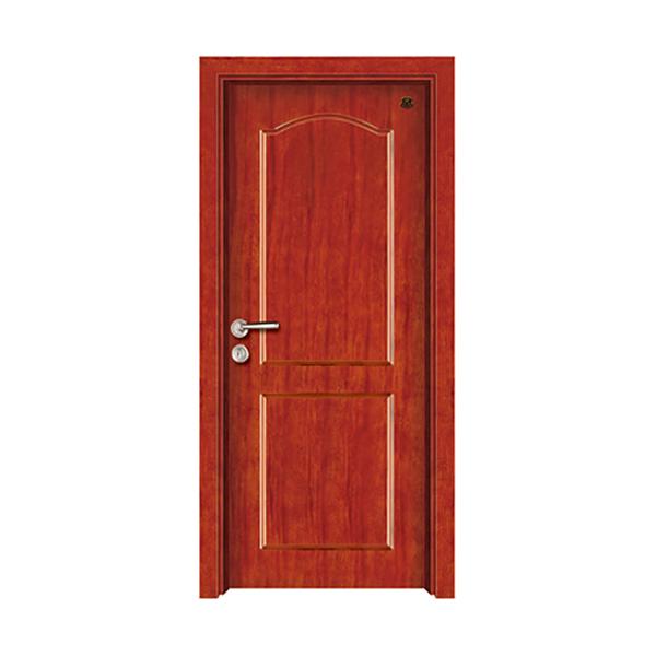 实木油漆套装门 HT-SB-3花梨木本色