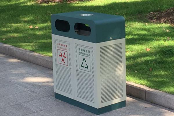 钢板喷塑垃圾桶深受北京人的喜爱