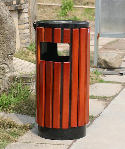 单桶钢木箱