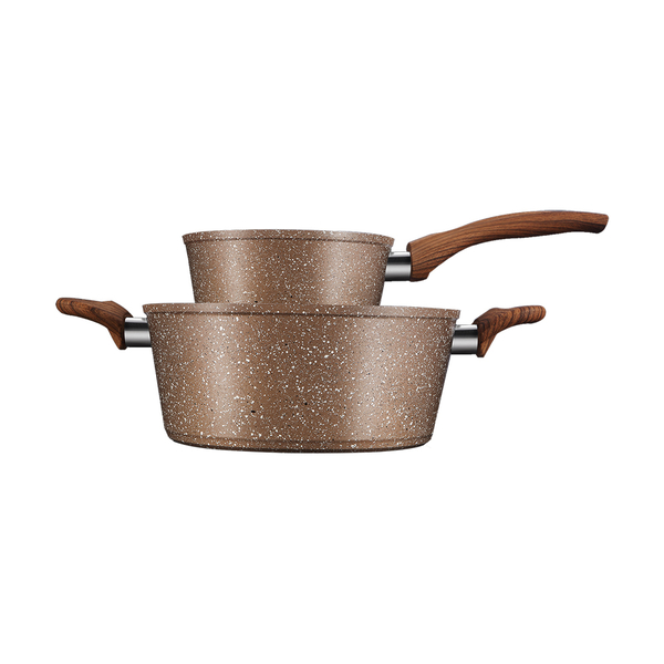 Marble Coating Non-Stick Cookware