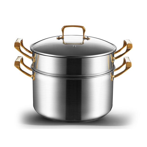镀金系列蒸锅