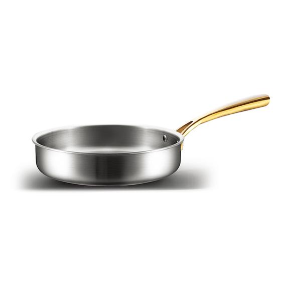 镀金系列煎锅