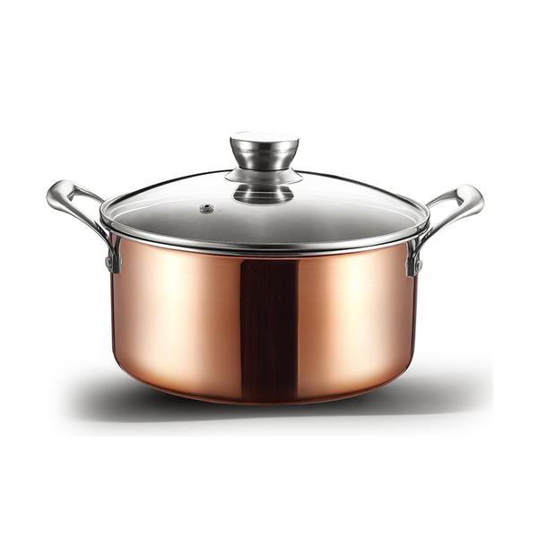 三层铜汤锅