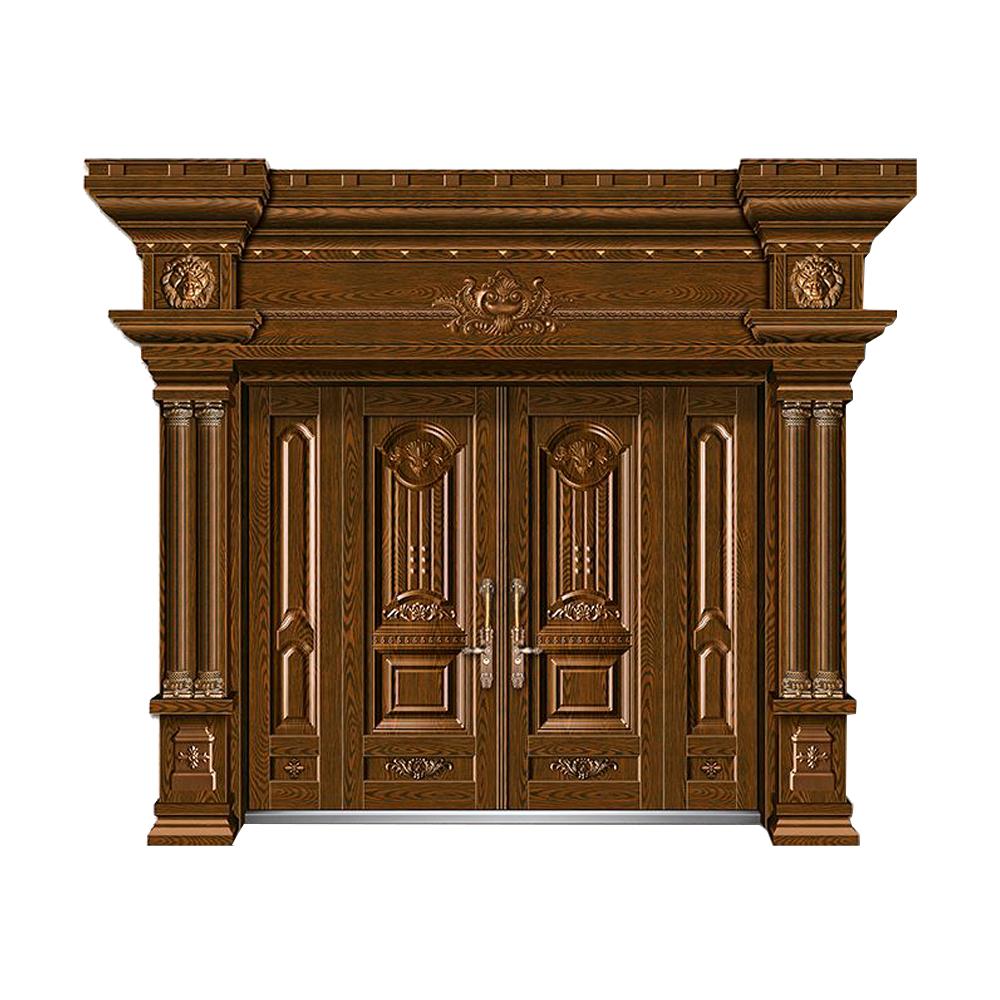 精雕木紋門JW-1036-萬象更新