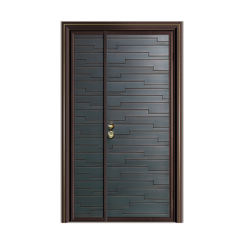 Fusim Copper Wooden DoorDM-P806