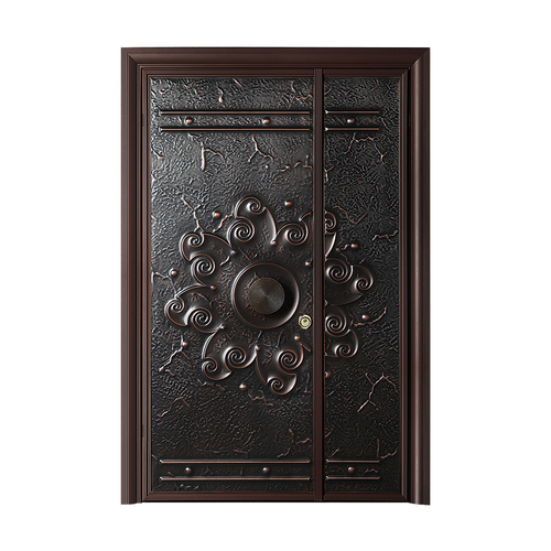 Fusim Copper Wooden DoorDM-J808
