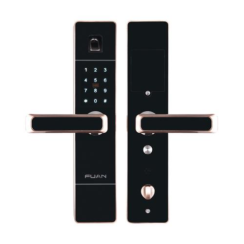 富新智能锁FA-8808玫瑰金