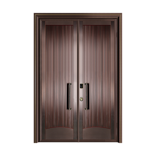 Fusim Copper Wooden DoorDM-P804