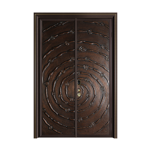 Fusim Copper Wooden DoorDM-S809