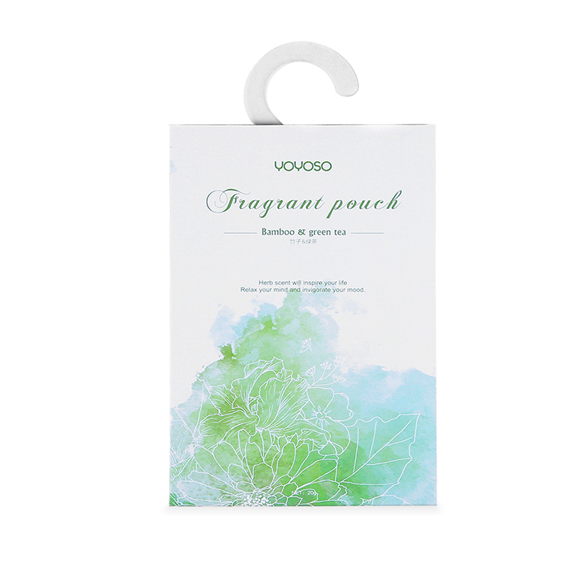 paper sachet of nordic style - green