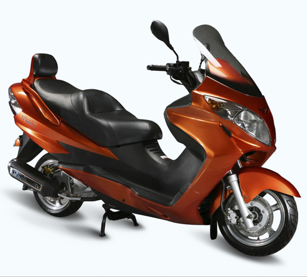 Motorcycle XY300T-4/XY260T-4
