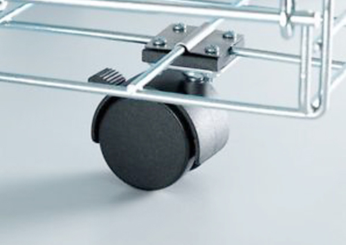 Choose the appropriate wheel carrier to extend the life of the casters