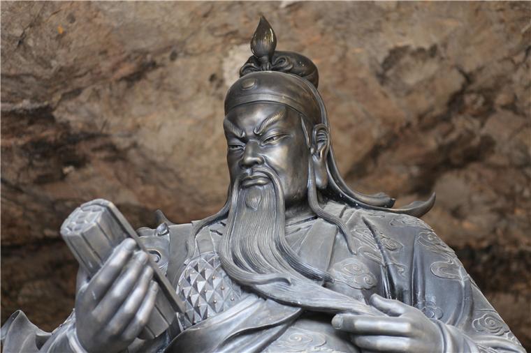 神雕銅藝|關公為何變成了伽藍菩薩