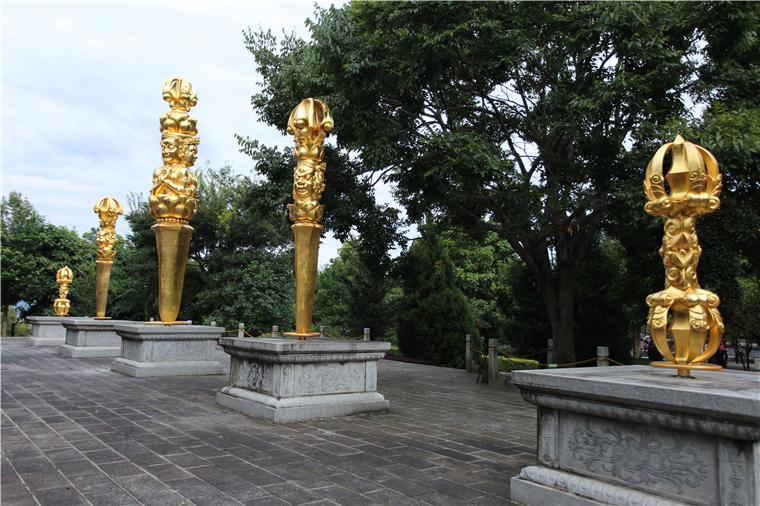宗教雕塑廠家神雕公司:何為金剛杵?