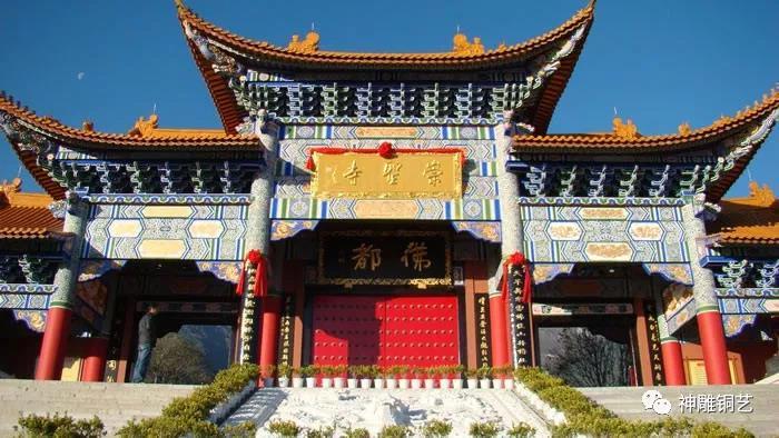 東南亞唯一開過金光的佛寺,和神雕公司有著這樣的故事!