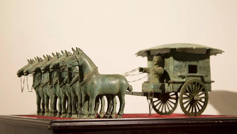 """你見過2200多年前的""""豪車""""嗎?神雕銅文化博物館帶你開眼界……"""