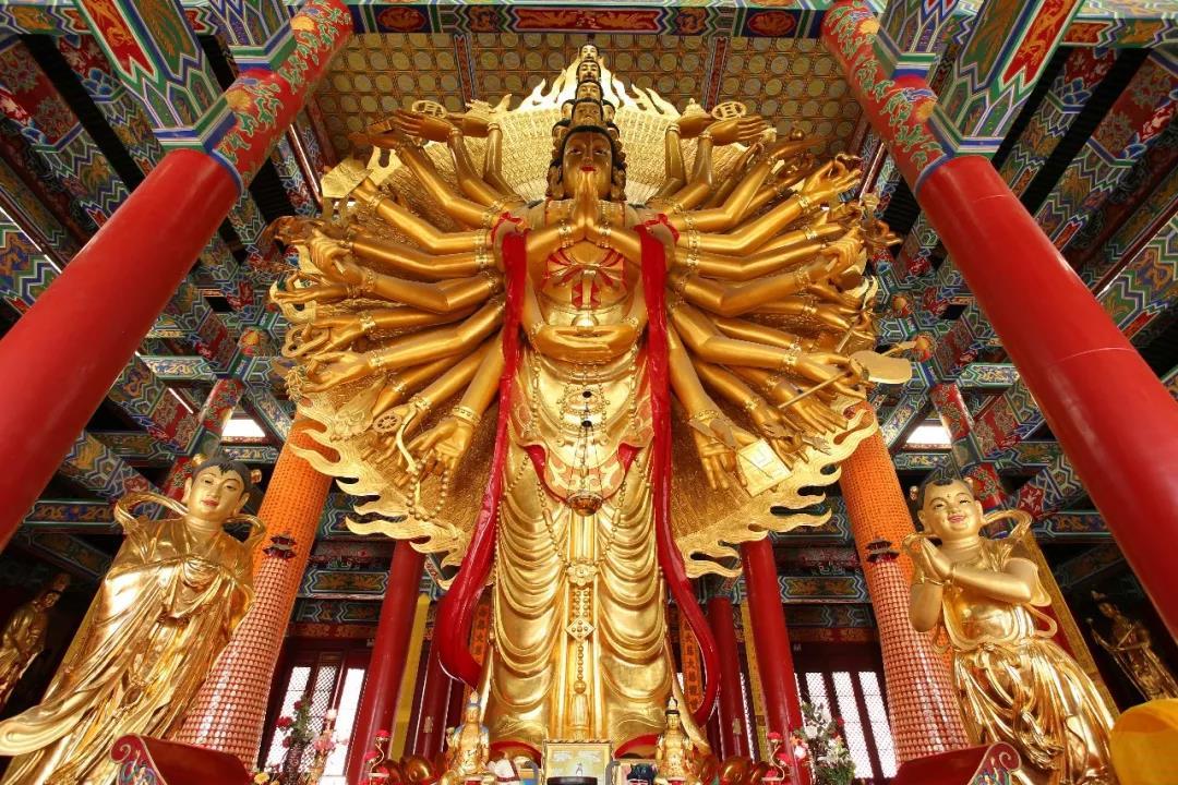 神雕制造!全國最大的銅制千手觀音,令世人折服!