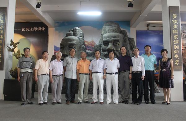 中國工藝美術大師陸光正、盧光華、王樹文、王勇慶蒞臨神雕