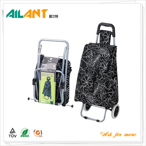 Foldable shopping trolley ELD-G104