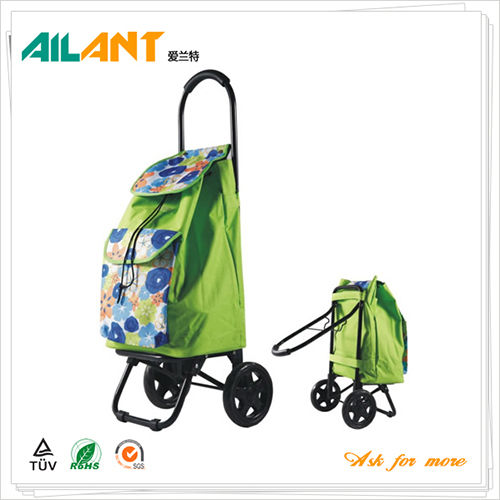 Foldable shopping trolley ELD-G107