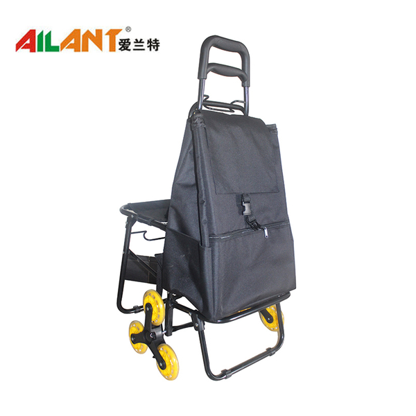 Climbing stairs shopping trolley ELD-E104