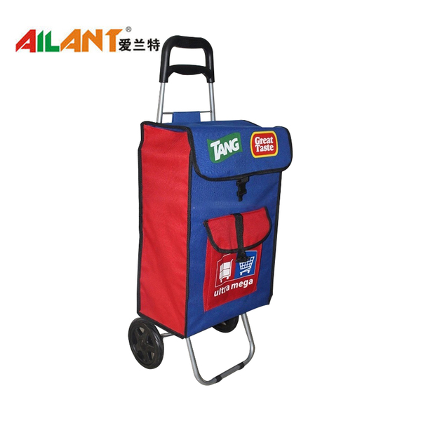The extra pocket  shopping trolley ELD-C302-2