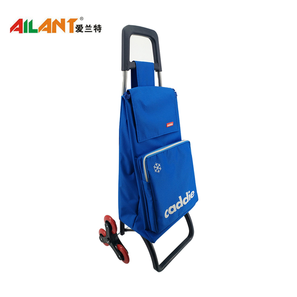 The extra pocket  shopping trolley ELD-D101
