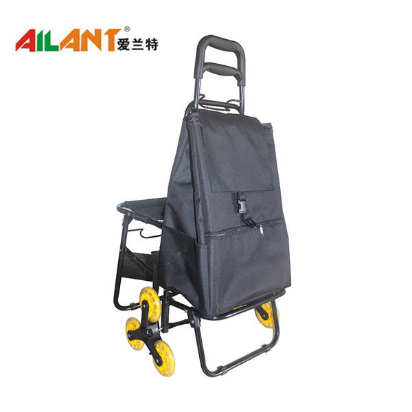 Foldable shopping trolley ELD-E104