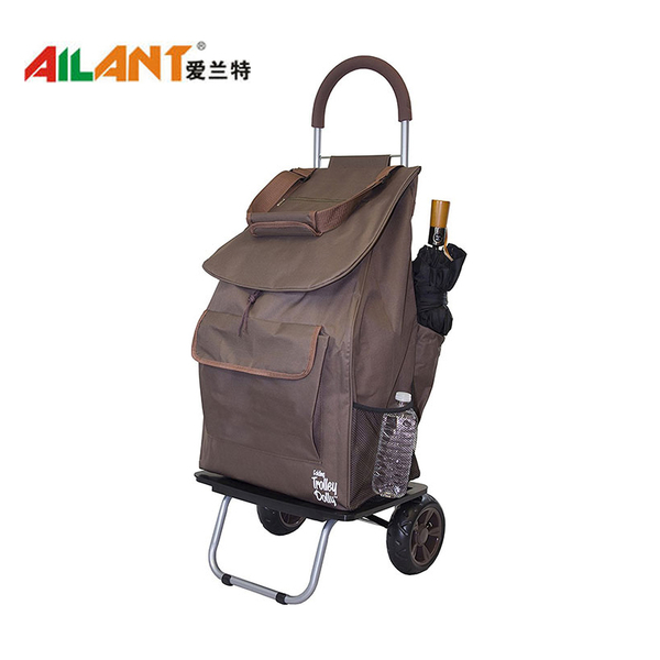 The extra pocket  shopping trolley ELD-G102